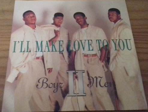 "Boyz II Men - I'll Make Love To You (7"", Single) (Motown, Polydor)"