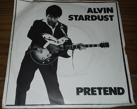 """Alvin Stardust - Pretend (7"""", Sol) (Stiff Records)"""
