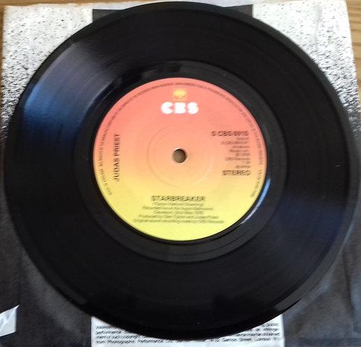 """Judas Priest - Take On The World (7"""", Single) (CBS)"""