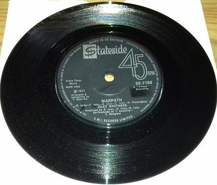 "The Isley Brothers - Warpath (7"") (Stateside)"