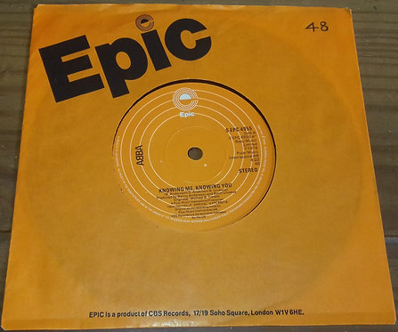 """ABBA - Knowing Me, Knowing You (7"""", Single, Sol) (Epic)"""