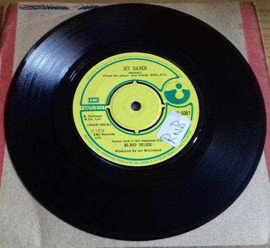 "Be Bop Deluxe - Jet Silver (7"", Single, Kno) (Harvest)"