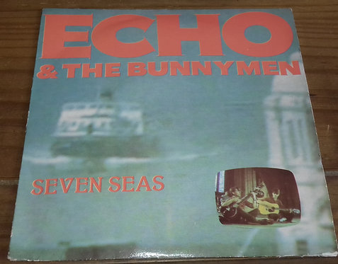 "Echo & The Bunnymen - Seven Seas (7"", Single, Sil) (Korova, Korova)"