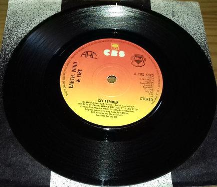 """Earth, Wind & Fire - September (7"""", Single) (CBS)"""