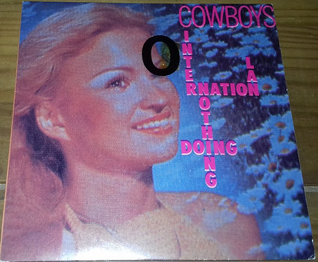 """Cowboys International - Nothing Doing (7"""" + Flexi, 7"""", S/Sided, Cle) (Virgin, Vi"""