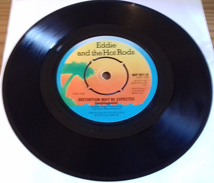 """Eddie And The Hot Rods - Quit This Town (7"""", Single, Pus) (Island Records)"""