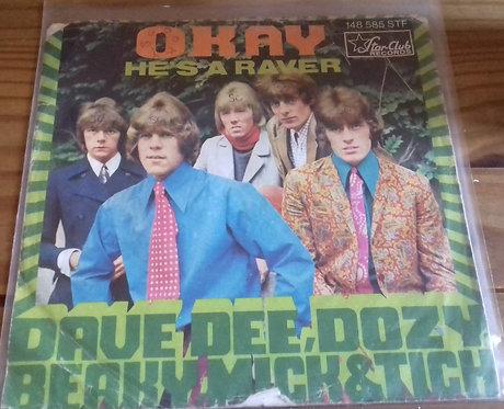 "Dave Dee, Dozy, Beaky, Mick & Tich - Okay (7"", Single) (Star-Club Records)"