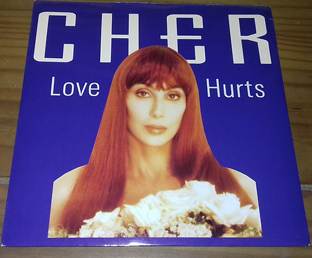 "Cher - Love Hurts (7"", Single, Inj) (Geffen Records)"