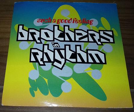 """Brothers In Rhythm - Such A Good Feeling (7"""", Sil) (4th & Broadway, 4th & Broadw"""