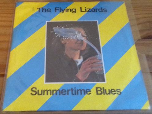 """The Flying Lizards - Summertime Blues (7"""", Single) (Virgin)"""