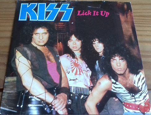 "Kiss - Lick It Up (7"", Single) (Vertigo, Vertigo)"