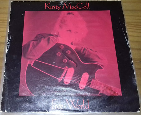 "Kirsty MacColl - Free World (7"", Single) (Virgin)"
