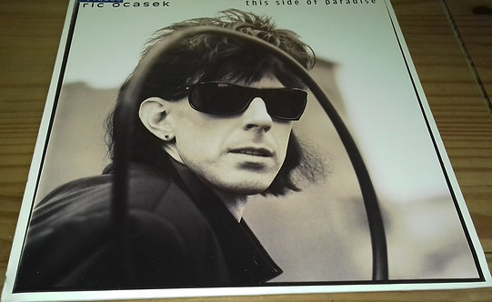 Ric Ocasek - This Side Of Paradise (LP, Album) (Geffen Records)