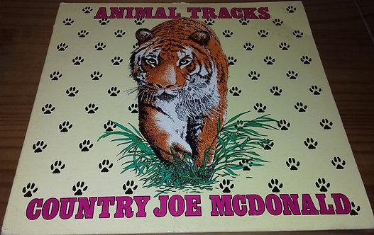 Country Joe McDonald - Animal Tracks (LP, Album) (Animus Records (2))