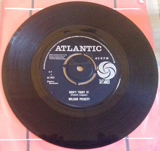 "Wilson Pickett - Don't Fight It (7"", Single) (Atlantic)"