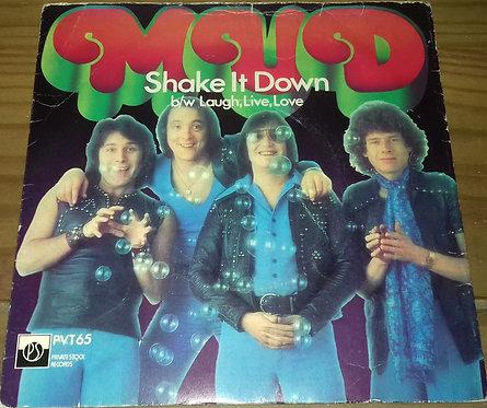 "Mud - Shake It Down (7"", Single, 4 P) (Private Stock, Private Stock)"