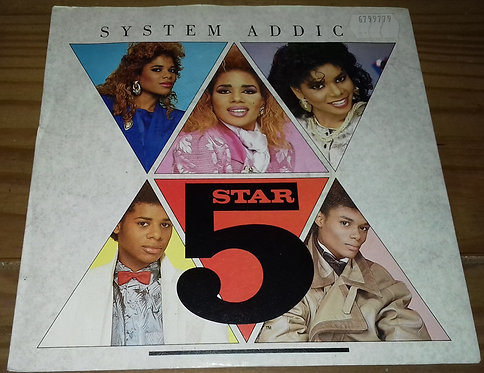 "5 Star* - System Addict (7"", Single) (Tent, RCA, Tent, RCA)"