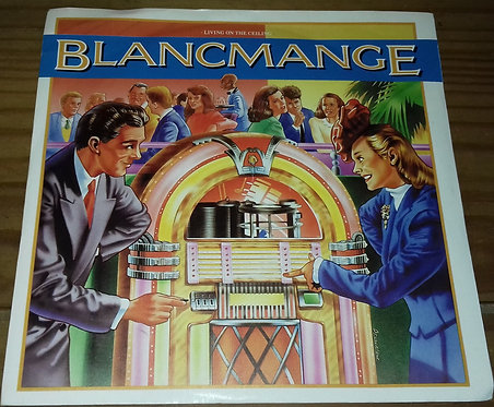 "Blancmange - Living On The Ceiling (7"", Single, Sil) (London Records)"