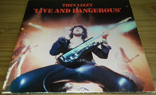 Thin Lizzy - Live And Dangerous (2xLP, Album) (Vertigo)