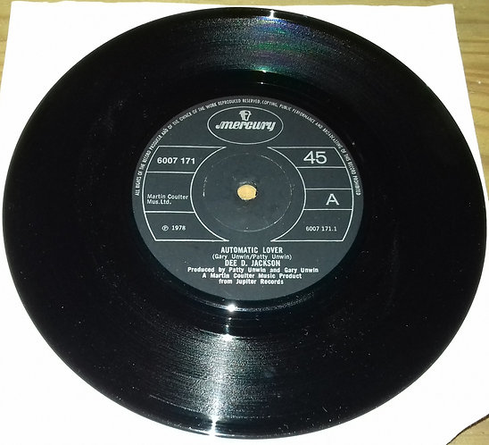 "Dee D. Jackson - Automatic Lover (7"", Single, Pap) (Mercury)"