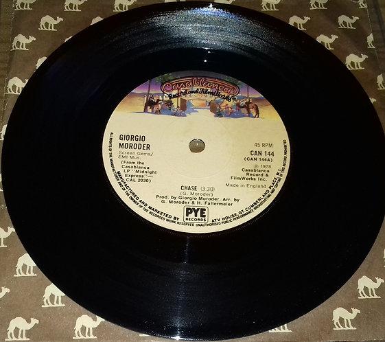 """Giorgio Moroder - Chase (7"""", Single, Sol) (Casablanca)"""