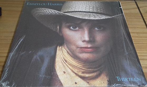 Emmylou Harris - Thirteen (LP, Album) (Warner Bros. Records)