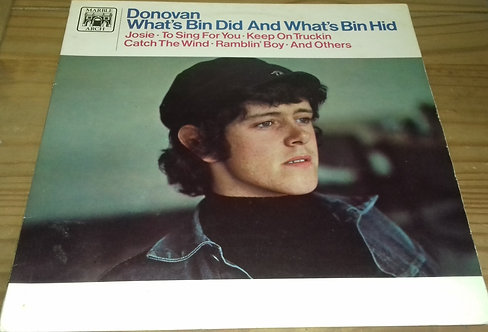 Donovan - What's Bin Did And What's Bin Hid (LP, Album, Mono, RE) (Marble Arch)