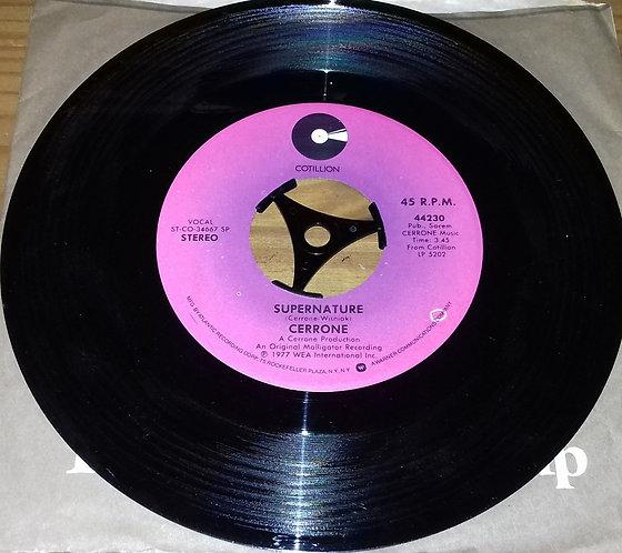 "Cerrone - Supernature (7"", Single, SP) (Cotillion)"