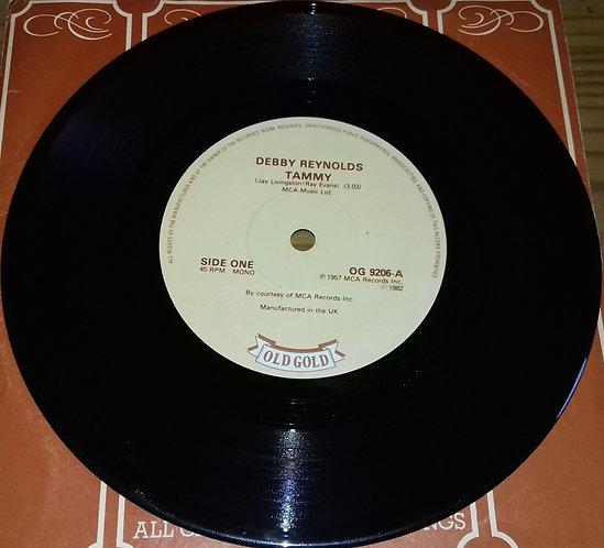 "Debbie Reynolds / Jane Morgan - Tammy / The Day The Rains Came (7"", Single, Mon"