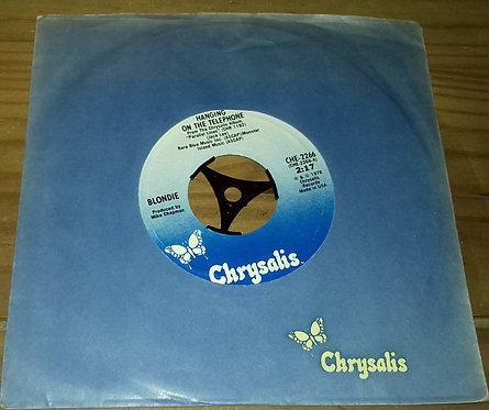 "Blondie - Hanging On The Telephone (7"", Single, Lar) (Chrysalis, Chrysalis)"