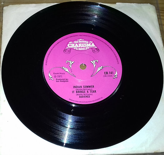"""Audience  - Indian Summer (7"""", Single) (Charisma)"""