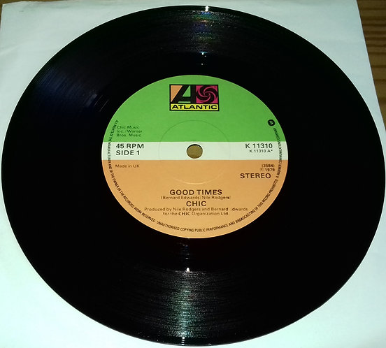 "Chic - Good Times (7"", Single) (Atlantic)"