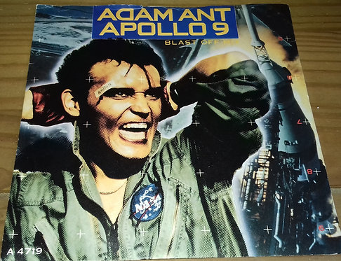 "Adam Ant - Apollo 9 (Blast Off Mix) (7"", Single) (CBS)"