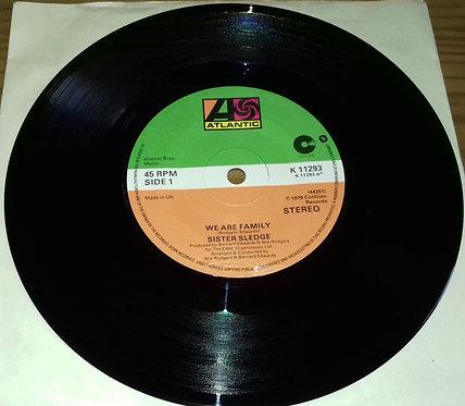 "Sister Sledge - We Are Family (7"") (Atlantic, Cotillion)"