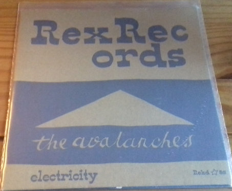 """The Avalanches - Electricity (7"""", Single) (Rex Records)"""