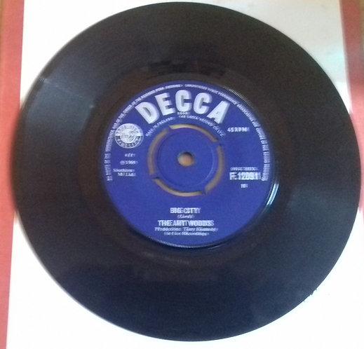 "The Art Woods* - Oh My Love / Big City (7"", Single) (Decca)"