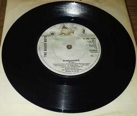 "The Beach Boys - Sumahama (7"", Single) (Caribou Records)"