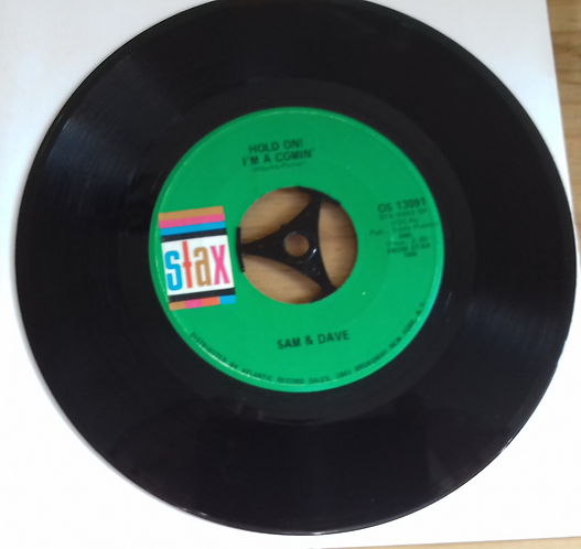 """Sam & Dave - Hold On I'm A Comin' / I Thank You (7"""", SRC) (Stax)"""