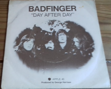 """Badfinger - Day After Day (7"""", Single, 4 P) (Apple Records)"""