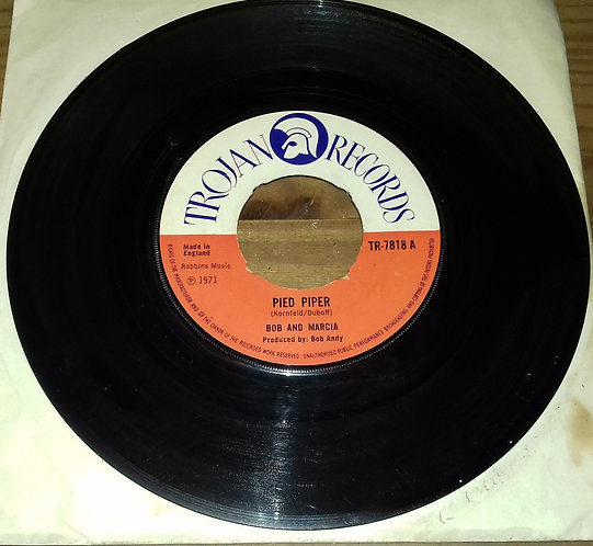 "Bob And Marcia* - Pied Piper (7"", Single, Pus) (Trojan Records)"