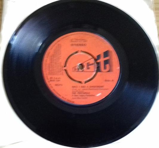 "The Pentangle* - Once I Had A Sweetheart (7"", Single) (Big T)"
