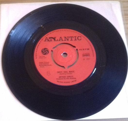 """Arthur Conley - Sweet Soul Music (7"""", Single, Pus) (Atlantic)"""
