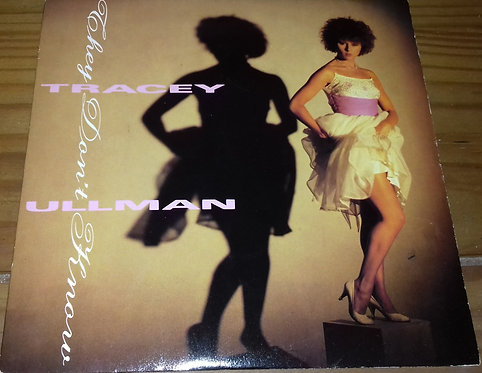 """Tracey Ullman - They Don't Know (7"""", Single) (Stiff Records)"""