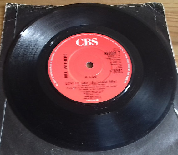 """Bill Withers - Lovely Day (Sunshine Mix) (7"""", Single, Lab) (CBS)"""