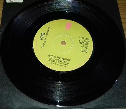 "MFSB - Love Is The Message (7"") (Philadelphia International Records)"