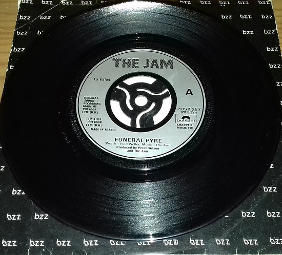 "The Jam - Funeral Pyre (7"", Single, Jukebox) (Polydor, Polydor)"