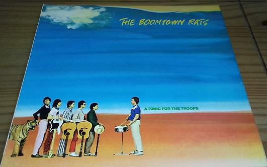 The Boomtown Rats - A Tonic For The Troops (LP, Album) (Ensign)
