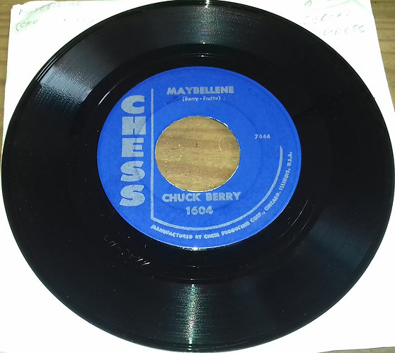 """Chuck Berry - Maybellene / Wee Wee Hours (7"""", Single) (Chess)"""