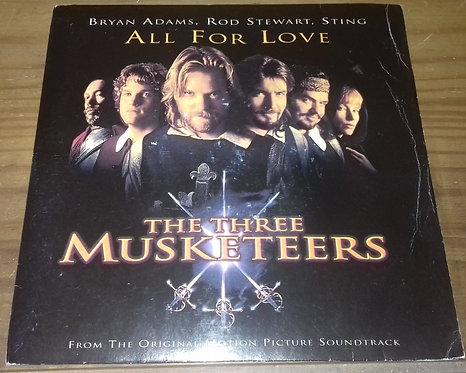 "Bryan Adams, Rod Stewart, Sting - All For Love (7"", Single) (A&M Records)"