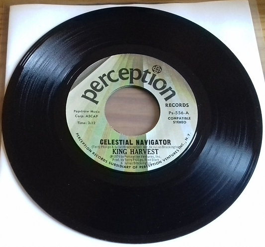 "King Harvest - Celestial Navigator (7"", Single) (Perception Records (5))"